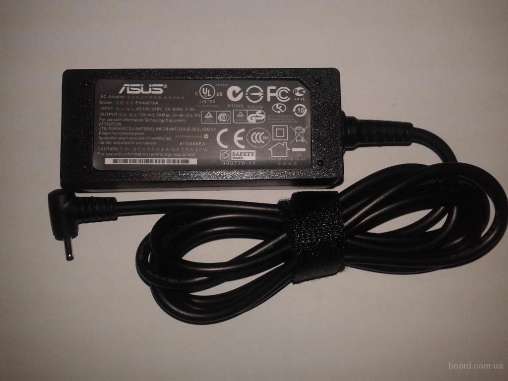 Блок питания для нетбука Asus Eee PC series. Год гарантии. Постоянно в наличии. Актуальная цена.