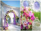 Свадебная арка: живые и искусственные цветы, лоза, помпоны, цветы из бумаги
