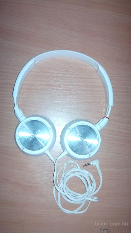 Наушники Sony MDR-ZX300 White
