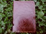 Обкладинка для паспорта Weal, виготовлено в Україні з натуральної шкіри, ручна робота