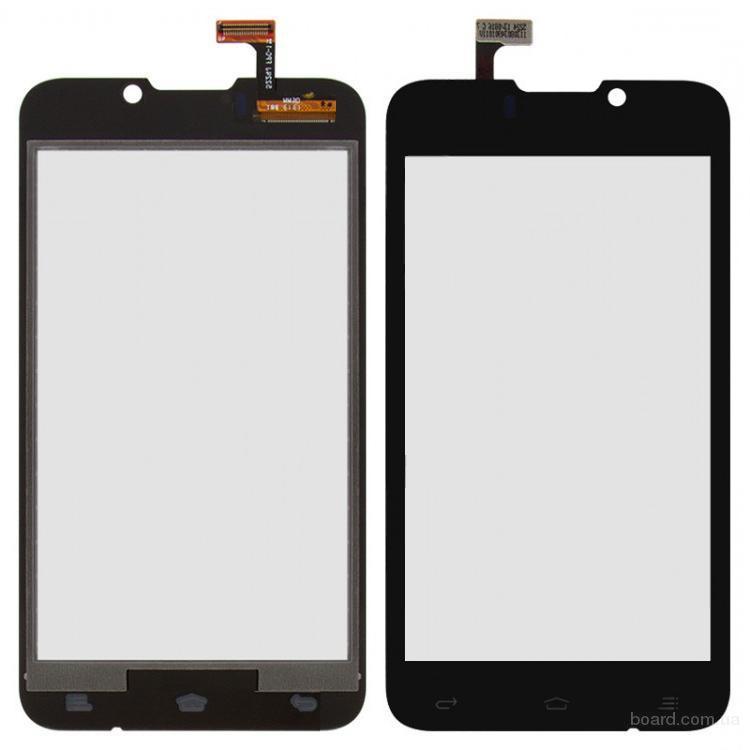 Сенсорный экран для мобильного телефона Fly IQ441 Чёрный