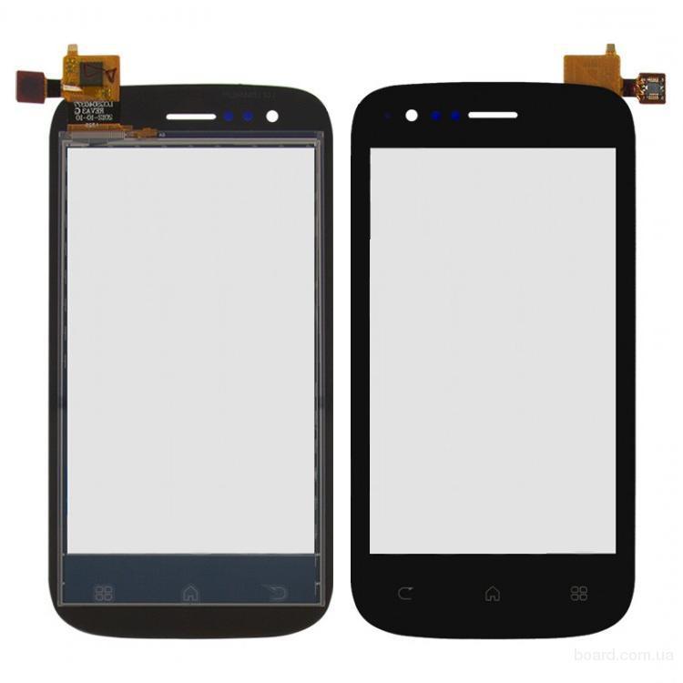 Сенсорный экран для мобильного телефона Fly IQ442 Miracle Чёрный