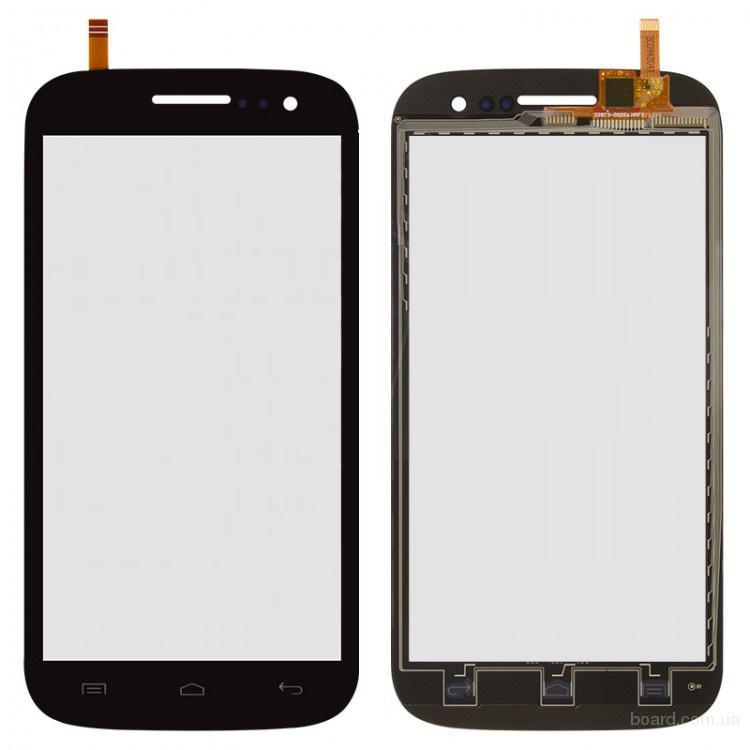 Сенсорный экран для мобильного телефона Fly IQ451 Quattro Vista Черный