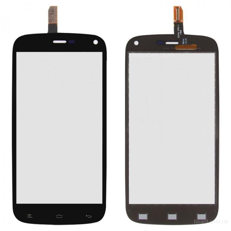 Сенсорный экран для мобильного телефона Fly IQ440 Черный