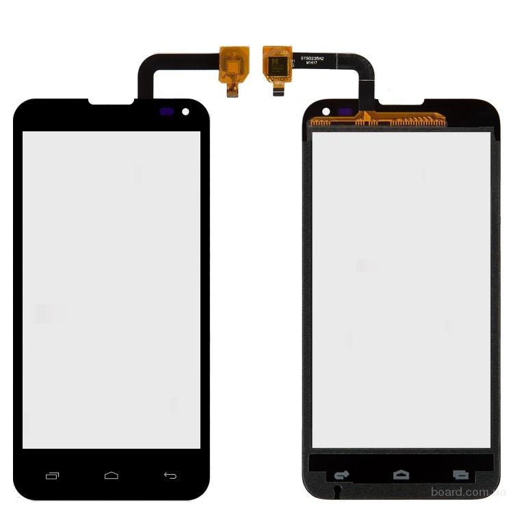 Сенсорный экран для мобильного телефона Fly IQ4415 Черный