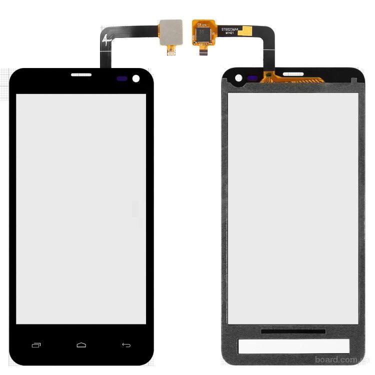 Сенсорный экран для мобильного телефона Fly IQ4416 Черный
