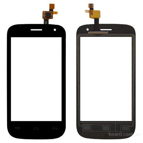 Сенсорный экран для мобильного телефона Fly IQ445 Черный
