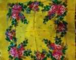 Шерстяные платки новые 75х75