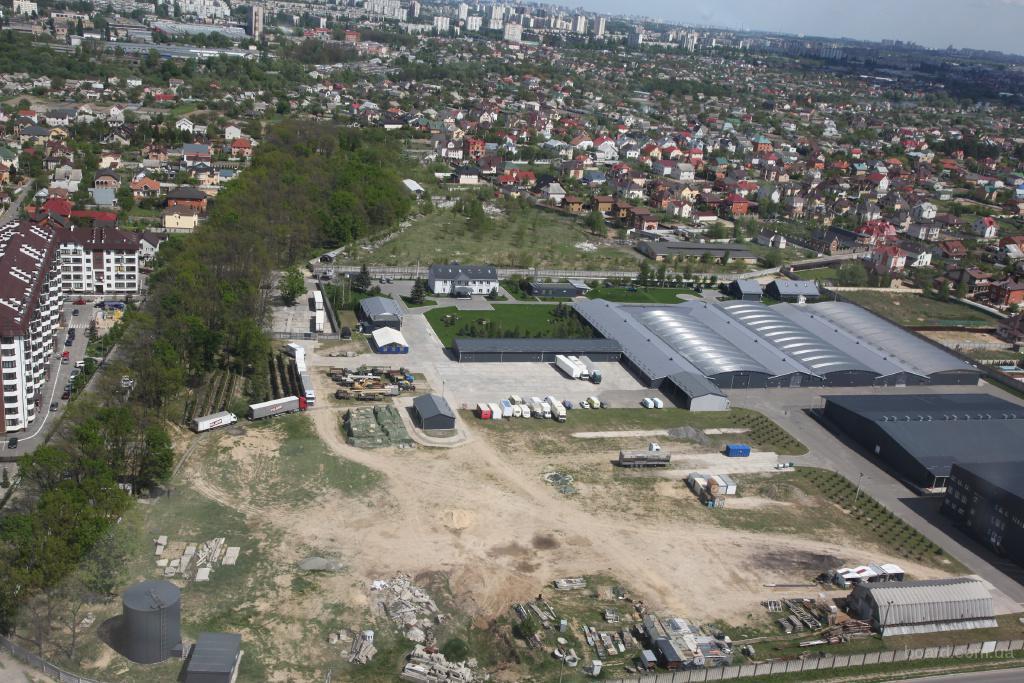 Аренда открытой площадки от 1000 до 10 000 кв.м.