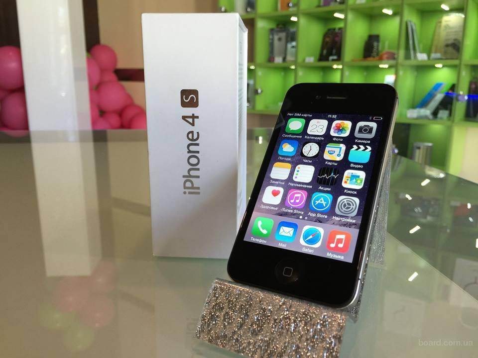 Apple iPhone 4S 16 Gb с гарантией от Дома Айфонов