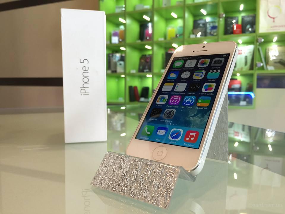 Apple iPhone 5 16 Gb с гарантией от Дома Айфонов