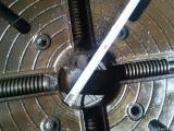 Чотирьохкулачковий токарний патрон діаметром 400мм.(Бізон.ПНР)