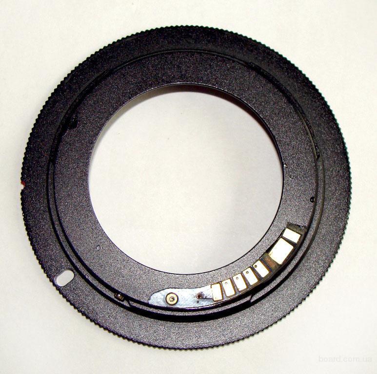 Переходник М42-Canon EOS (с чипом подтверждения и без)