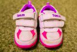 Продам кроссовки Tom.m, р.21, бело-розовые, в хорошем состоянии