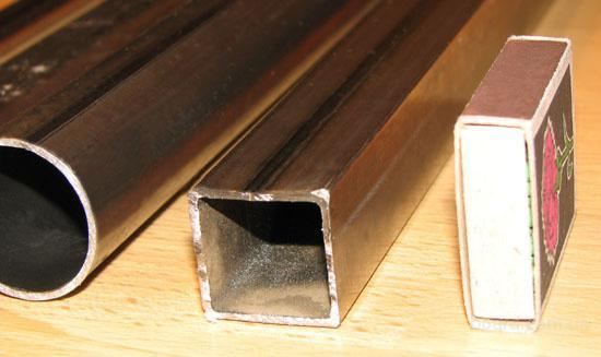 Тонкостенные трубы (мебельные)
