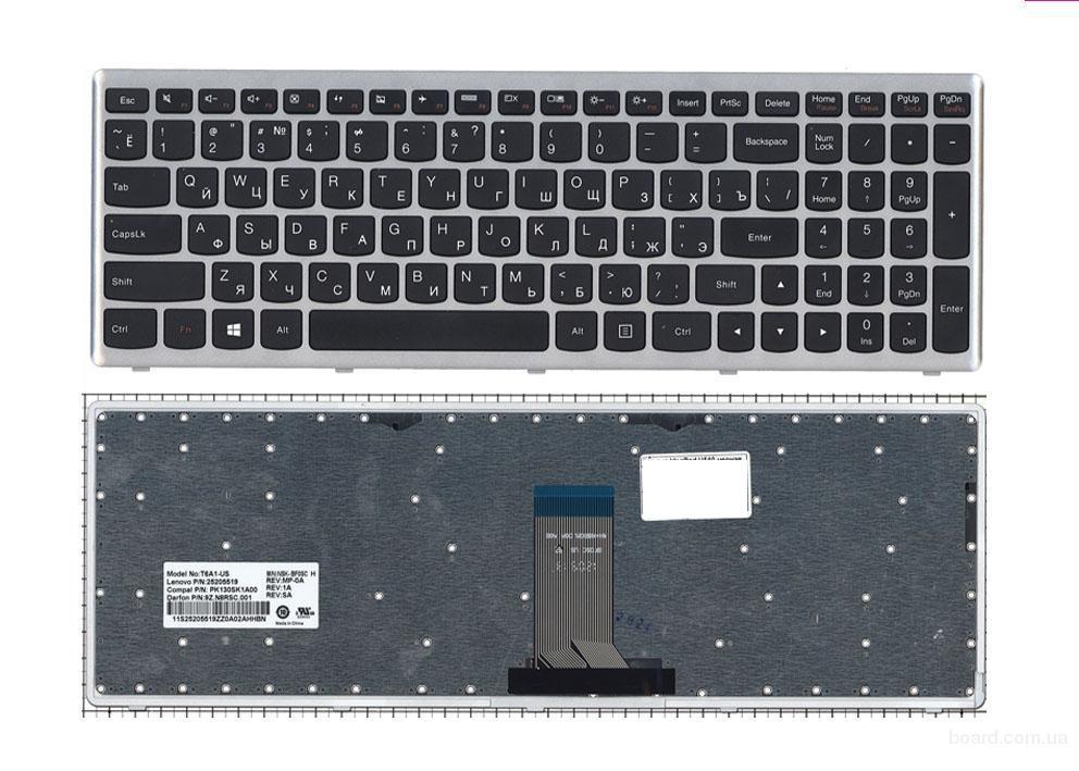 Клавиатура Lenovo IdeaPad U510 U510-IFI