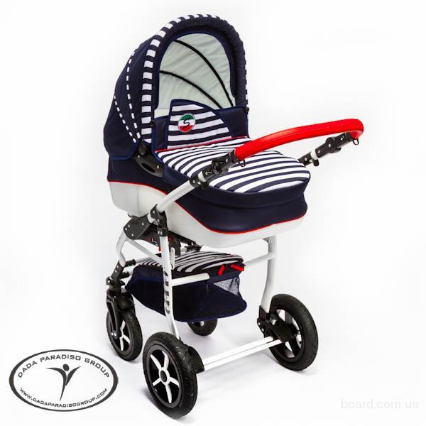 Детские коляски универсальные 2 в 1, Коляска универсальная DPG Super Sailor