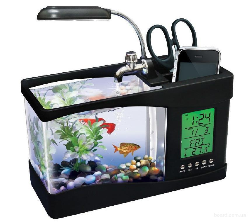 Настольный USB мини аквариум