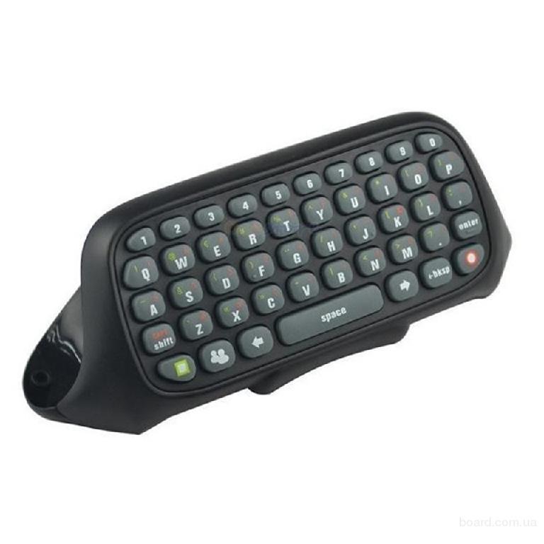 Беспроводная  мини клавиатура для Xbox 360 на геймпад
