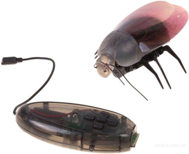 Электронный таракан на радиоуправлении