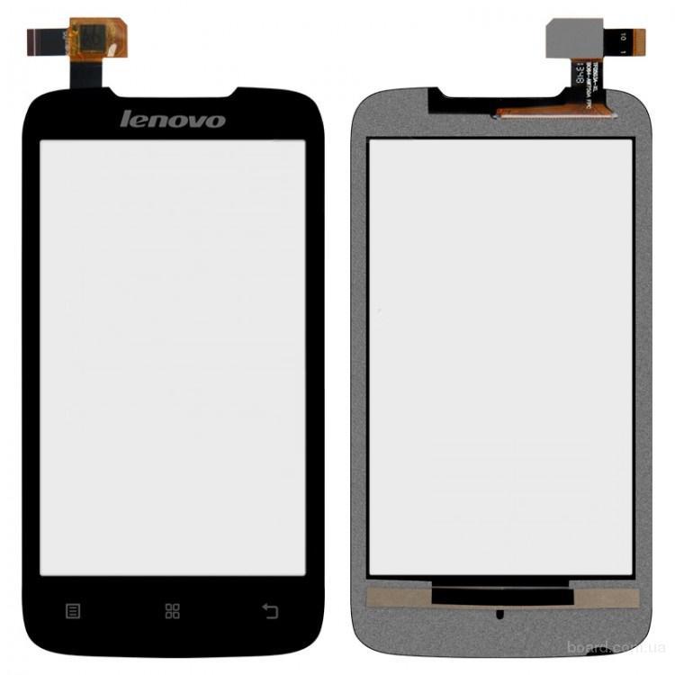 Сенсорный экран для мобильного телефона Lenovo A369i Чёрный