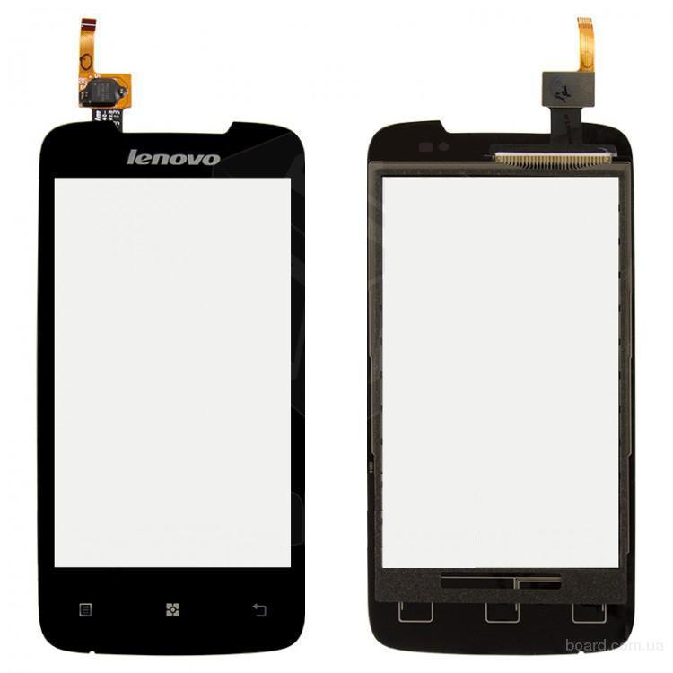 Сенсорный экран для мобильного телефона Lenovo A390 Чёрный