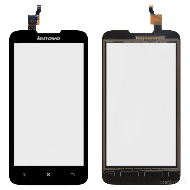 Сенсорный экран для мобильного телефона Lenovo A680 Чёрный