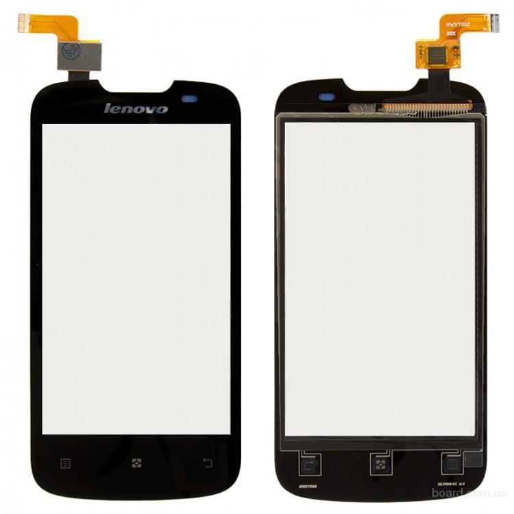 Сенсорный экран для мобильного телефона Lenovo A690 Чёрный