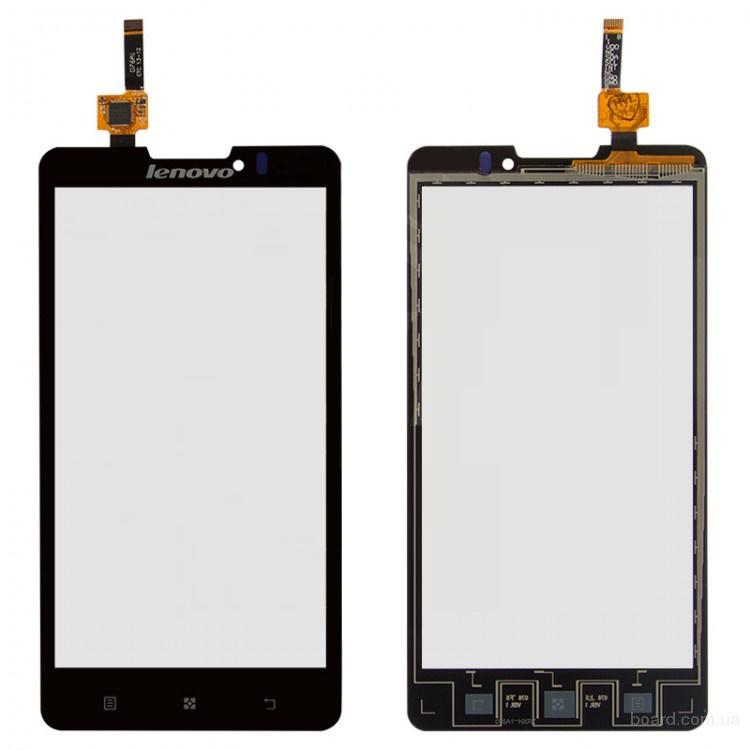 Сенсорный экран для мобильного телефона Lenovo P780 Чёрный