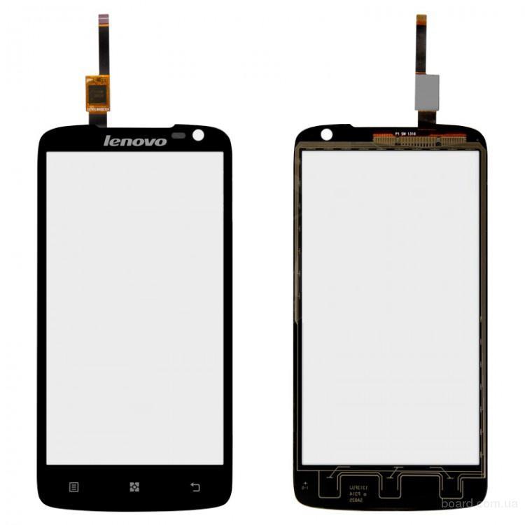 Сенсорный экран для мобильного телефона Lenovo S820 Чёрный