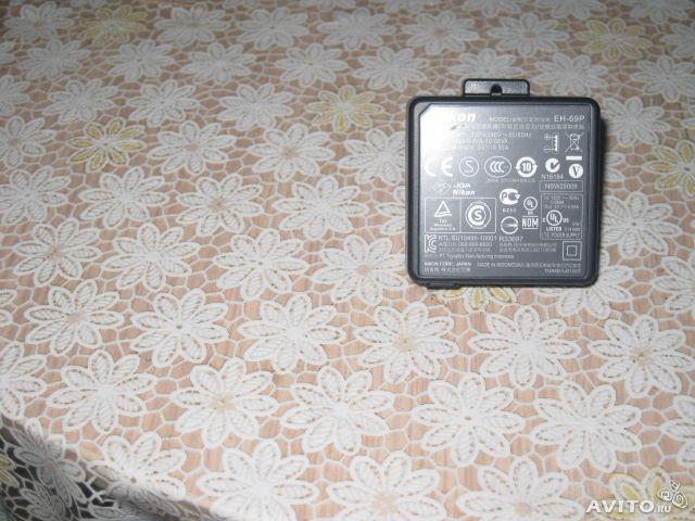 Сетевой блок питания Nikon EH-68P+кабель ОРИГИНАЛ