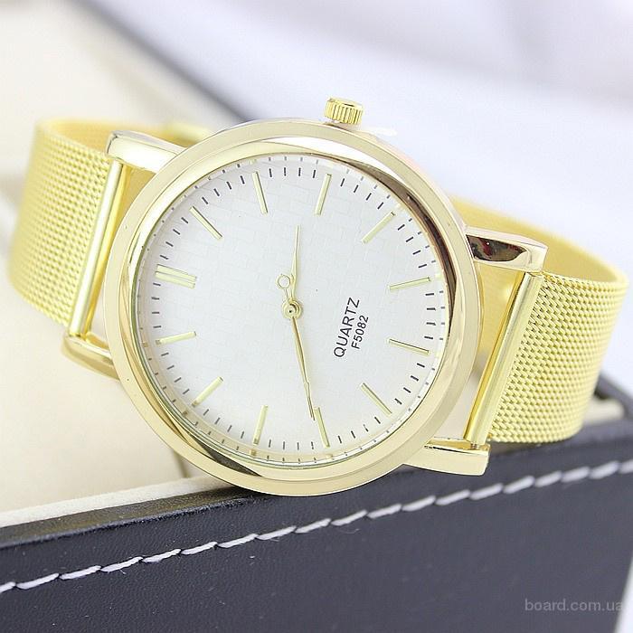"""Красивые женские часы """"Qvartz"""" по выгодной цене. Всего 160грн.  Прекрасный ремешок из металла на часах прекрасно дополняет женскую ручку.  При заказе"""