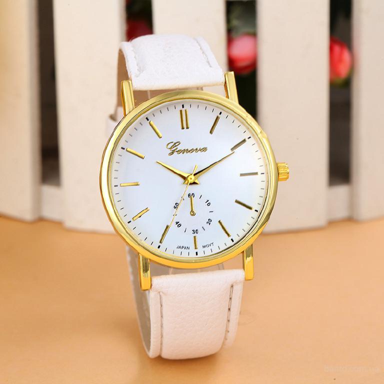 Наручные часы для женщин «Geneva»! Отличный подарок девушке по выгодной цене, поспешите! Механизм - кварцевый Циферблат - аналоговый (стрелки) Материа