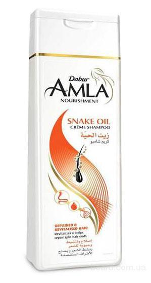 Крем-шампунь со змеиным маслом Amla Snake Oil, Дабур, 200 мл