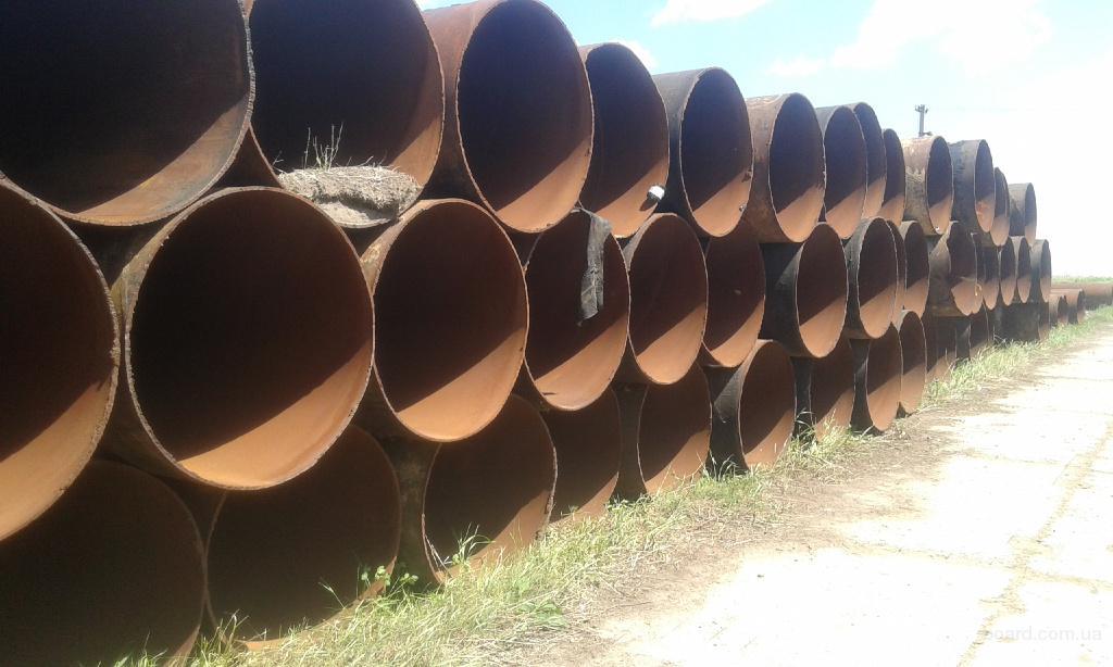 Продам трубы б/у газ д.1020*10.6-11мм. спиралешовная.есть обьём.Кривой Рог