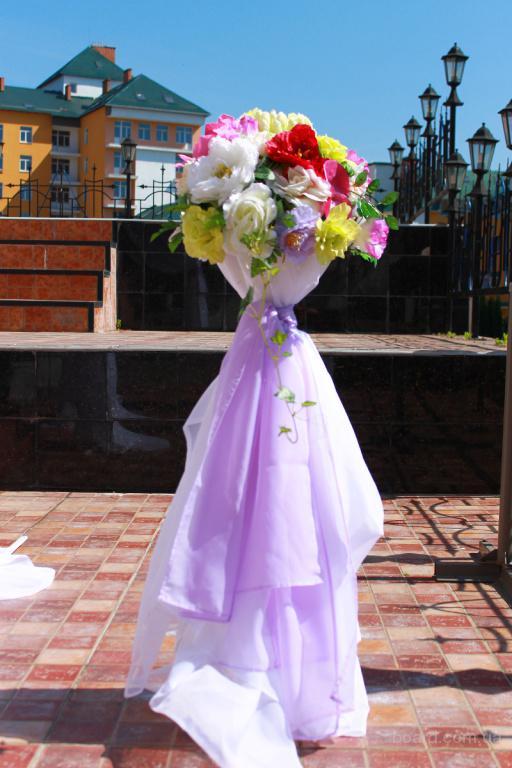 Украшение свадебного зала, оформление свадебной церемонии, прокат Киев Свадебная ширма на прокат в Киеве от 600 грн., арка на свадьбу с цветами