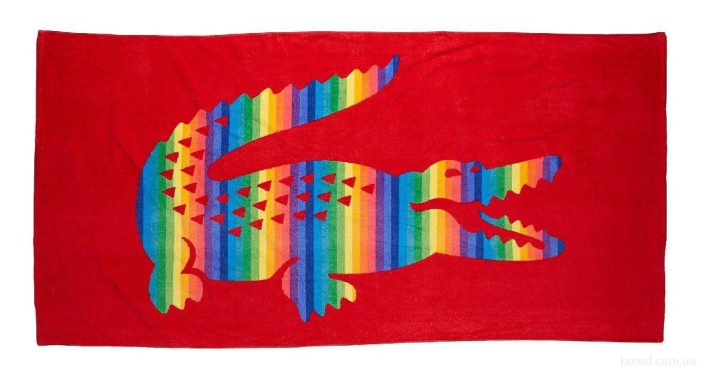 Lacoste Пляжное полотенце Lacoste Крокодил большой