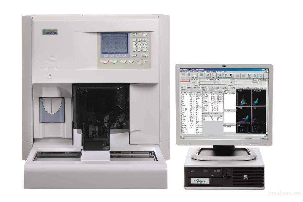 Гематологический автоматический анализатор Sysmex XE 2100 D