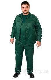 Полукомбинезон с курткой тк. Грета, т-зеленый
