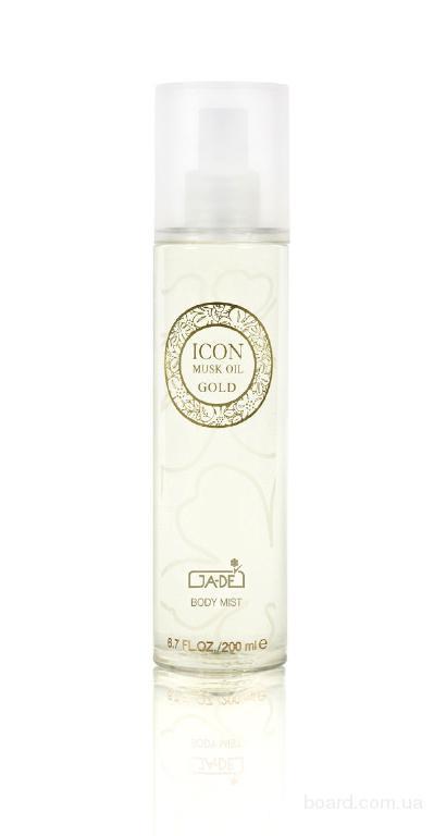 Парфюмированный крем для тела Icon Gold Ga-De