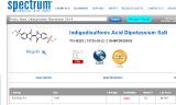 Индиго-5,5'-дисульфокислоты дикалиевая соль) (Indigodisulfonic Acid Dipotassium Salt) (C16H8K2N2O8S2 )(100