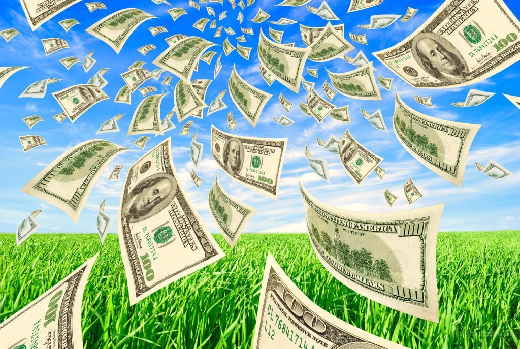 Какой цвет привлекает деньги?