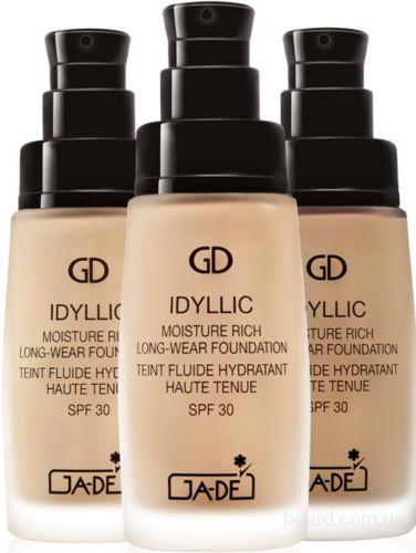 Тональный крем стойкий Idyllic GA-DE
