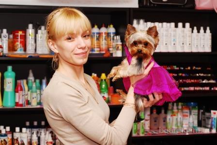 Приглашаем собак на бесплатную стрижку, купание и другие гигиенические процедуры.