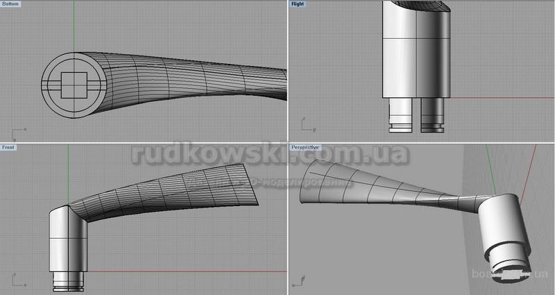 Создание мастер-моделей для литья