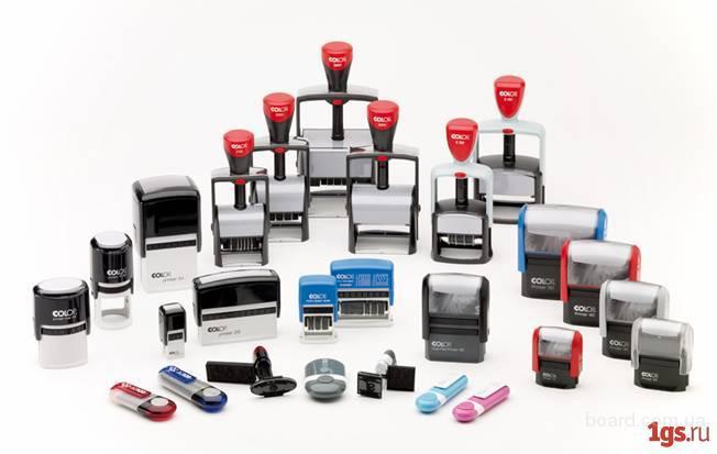 Изготовление и аксессуары для  печатей и штампов