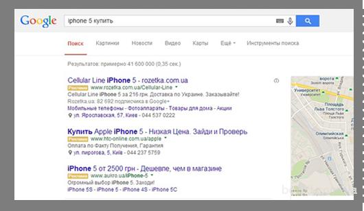 Контекстная реклама  Google AdWords и Yandex Direct в Киеве