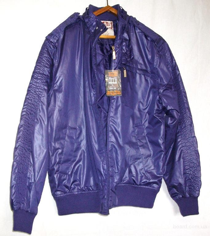 Куртка «Пилот» фиолетовая  Smoke Rise (ВО – 017) размер XL