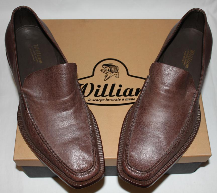 Мужские туфли Mocambo 41.5, 44 (нат. кожа, Италия)