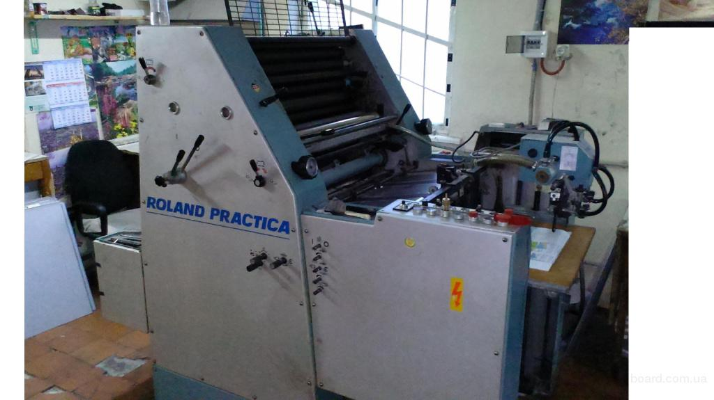 1 красочная листовая печатная машина Roland Pr 01